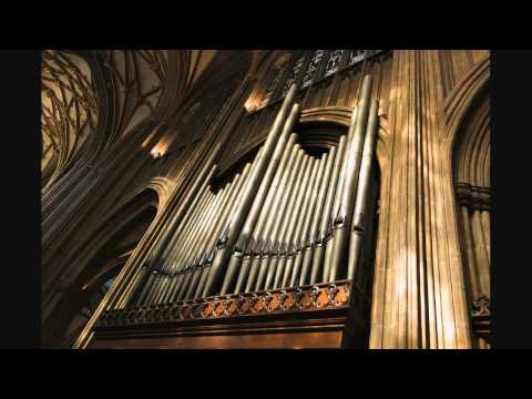 Elgar - Imperial March - Organ - St Mary Redcliffe - Bristol