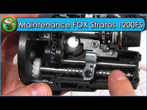 MAINTENANCE of Fox Stratos 12000 FS fishing reel