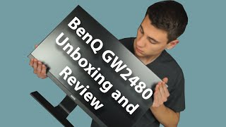 BenQ GW2480 Monitor Unboxing and Review