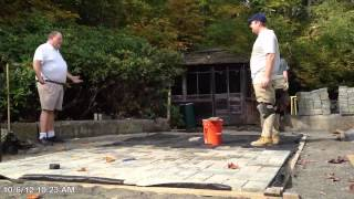 Fast Patio Installation