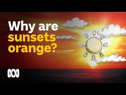 Why Is A Sunset Or Sunrise Never Blue Or Green? | Colourful Weather