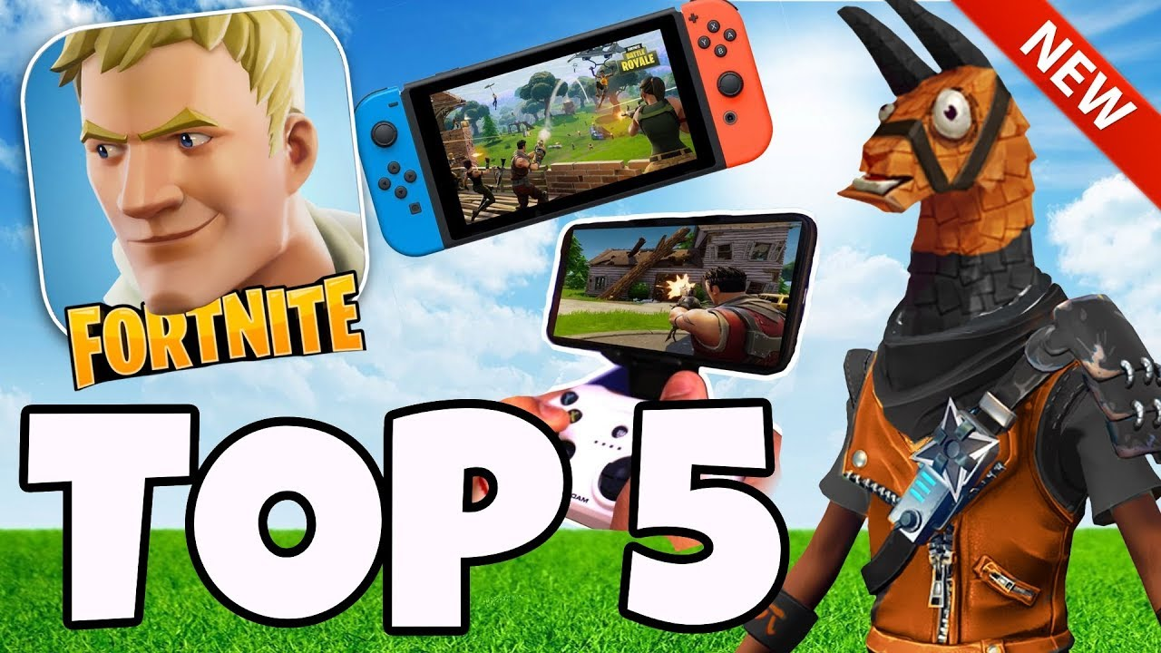 FORTNITE MOBILE - Andoirs / IOS Gameplay - Nintendo Switch Gameplay No Hack  Cheat