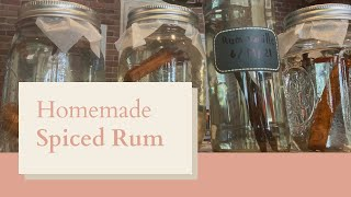 Homemade Spiced Rum | F๐ur Spiced Rum Recipes