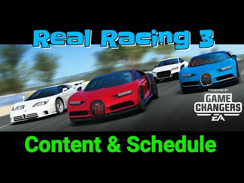 UPDATE 7.3 Real Racing 3, All Info.