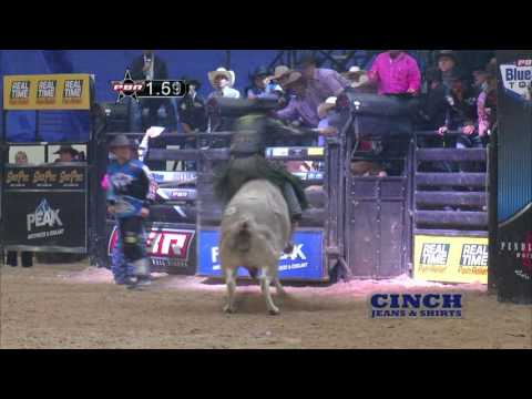 Chase Outlaw rides Ms. Kitty's Peacemaker for 88.5 points (PBR)