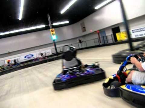 Go kart racing at rockstar racing baton rouge LA