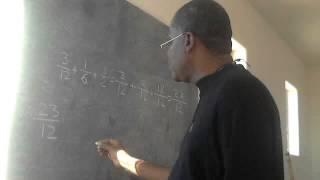 fraction ki genyin denominateur avek chiffre impair