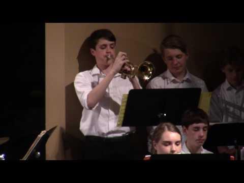 Margaret Buerkle Middle School (St. Louis) - Jazz Band - Part 1 04/26/2017