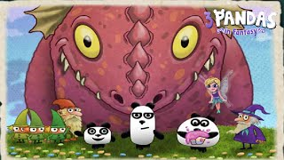 3 Pandas in Fantasy - Walkthrough