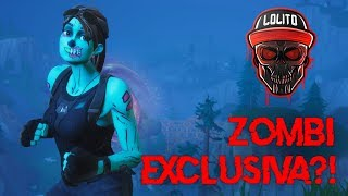 💀 WILL THE UNIQUE EXCLUSIVE SKIN BE ZOMBI?! 💀 - FORTNITE