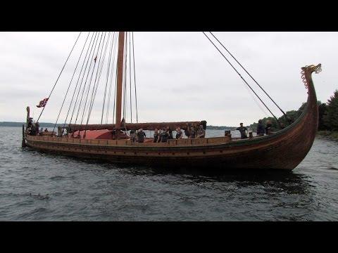 "World's Largest Viking Ship, ""Draken Harald Hårfagre' Spent Weekend in Brockville"