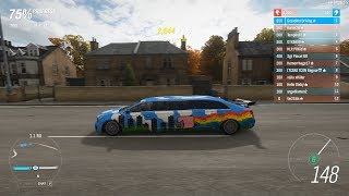 Forza Horizon 4 - I brought the RARE Cadillac Limo in Ranked Adventure (A terrible choice?)