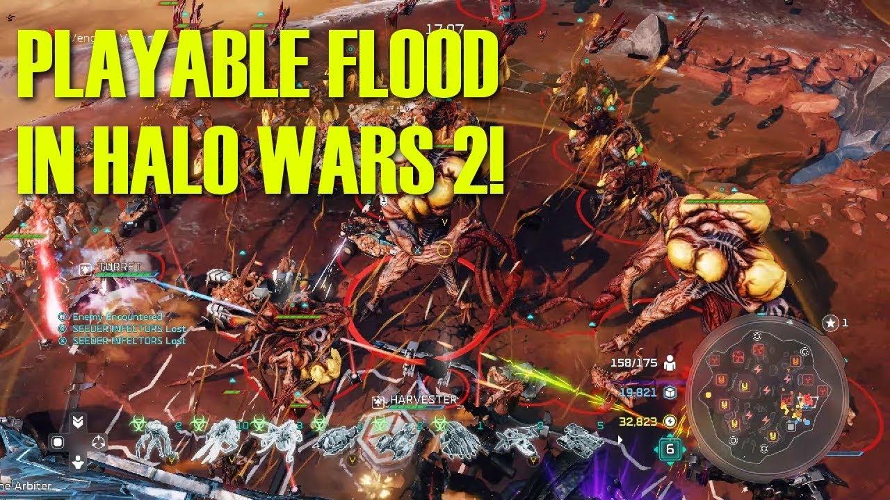 Halo Wars 2 Mod Makes the Flood Playable, 343 Industries