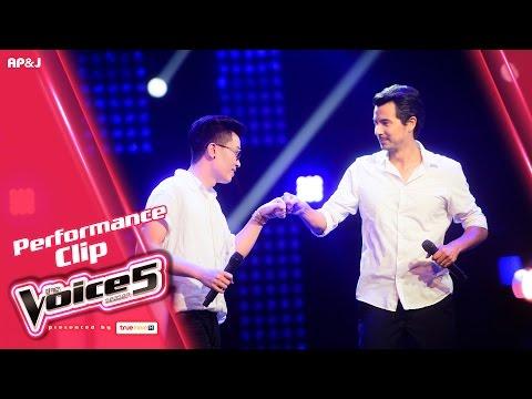 ย้อนหลัง The Voice Thailand - เต้ VS โจเซฟ - เพื่อเธอตลอดไป - 18 Dec 2016