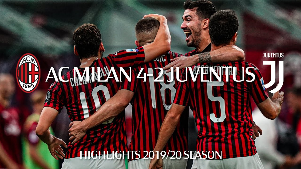 Download Highlights | AC Milan 4-2 Juventus | Matchday 31 Serie A TIM 2019/20