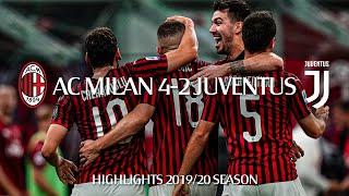 Highlights   AC Milan 4-2 Juventus   Matchday 31 Serie A TIM 2019/20