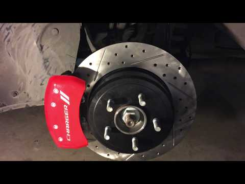 How to install MGP Calipers Covers on a Dodge Charger