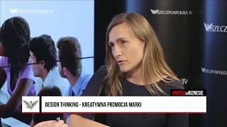 #RZECZoBIZNESIE: Magdalena Macko - Design Thinking w świecie finansów