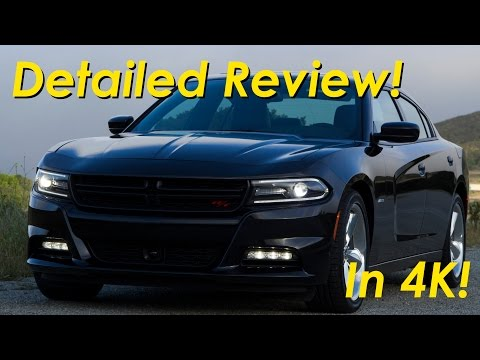 2015 - 2016 Dodge Charger R/T Road and Track Review Detailed -  in 4K