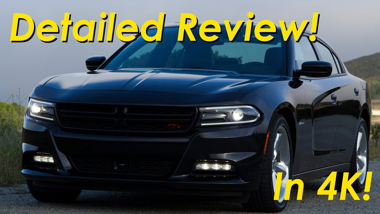 2015 2016 Dodge Charger R T Road and Track Review Detailed in 4K