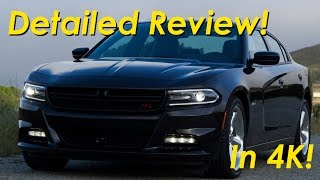 2015 Dodge Charger R/T Road and Track Review Detailed -  in 4K
