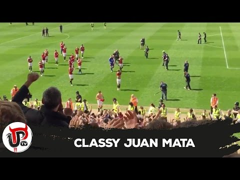 CLASSY JUAN MATA TAKES PICTURE WITH DISABLED FAN | NORWICH 0-1 UNITED