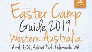 Sabbath School at Easter Camp 2019