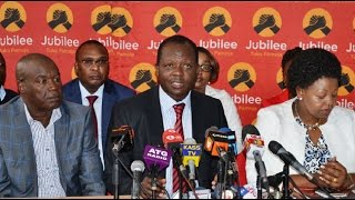 Tuju hits out at mounting Jubilee defectors