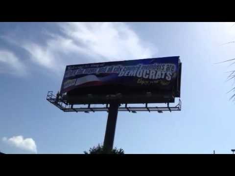 Ruth's list billboard install