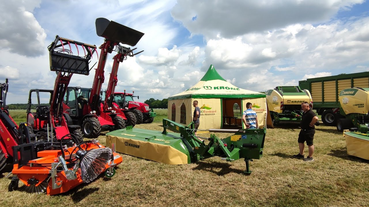 Targi Rolnicze Szepietowo 2021 – AGRO Frankopol! Relacja ze Stoiska [McCormick, Schaffer, Krone]