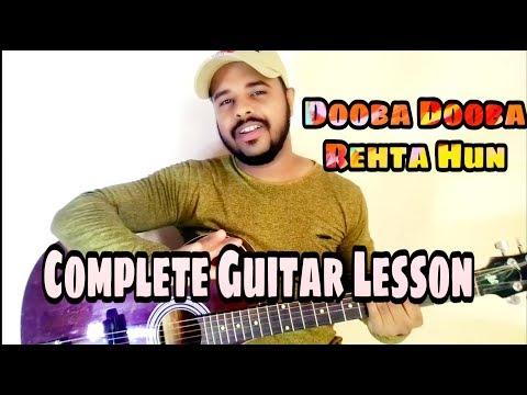 dooba-dooba-rehta-hun-(-silk-route-)-mohit-chauhan-|-guitar-lesson-|-acoustic-rider