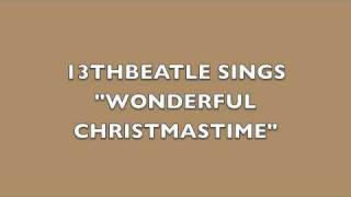 WONDERFUL CHRISTMASTIME-PAUL MCCARTNEY COVER