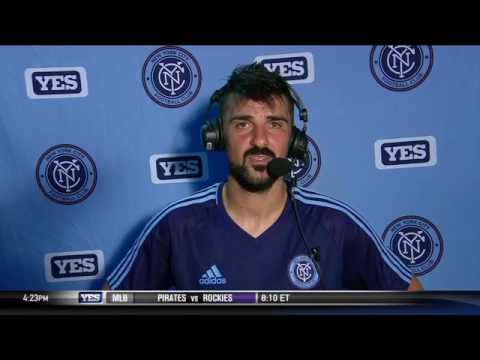 David Villa on NYCFC's win over Chicago