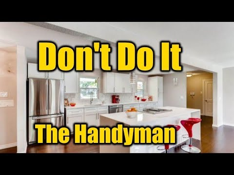 Why You Should NEVER Buy A Fix And Flip House | THE HANDYMAN |