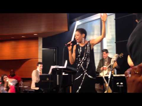 Adriane Lenox performs at After Midnight Broadway p