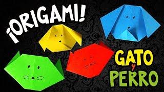 Origami Billiken #01 perro y gato