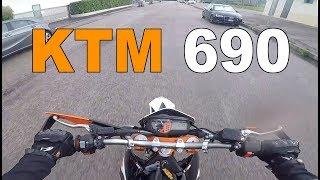 PROVO LA MOTO DI MARCO PICCOLO - KTM 690 SMC R