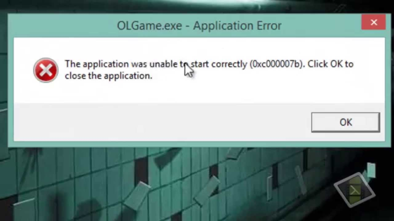 error 0xc00007b windows 10 64 bits gta v