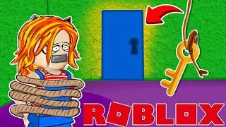 I STAY LOCKED IN A MANSION!! WILL I BE ABLE TO ESCAPE? ROBLOX 😱