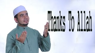 Nabil Ahmad - Thanks To Allah