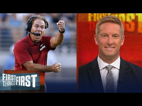 Joel Klatt on the latest CFB playoff rankings, Ohio State's struggles | CFB | FIRST THINGS FIRST