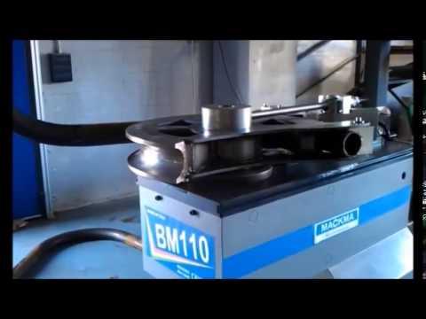 Бездорновый трубогибочный станок MACKMA BM110 для гибки трубы 88,9 мм x 7,62 мм по радиусу 350 мм