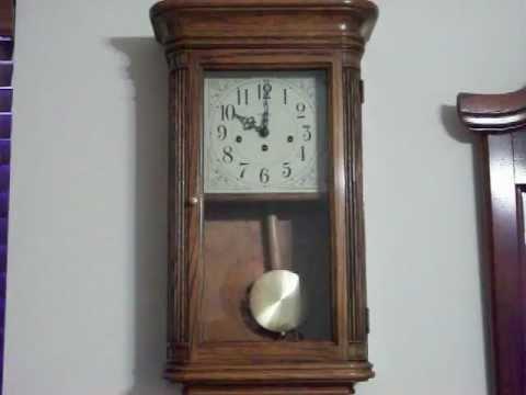 Howard Miller Sandringham Westminster Chime Wall Clock