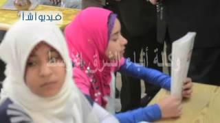 بالفيديو محافظ المنيا يفتتح مدرسة دلجا بديرمواس ضمن احتفالات العيد القومي