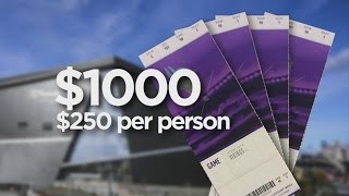 The Real Cost Of Attending A Vikings Home Game