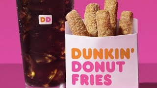Dunkin Donuts Finally Releases Donut FRIES &amp MORE New Menu Items