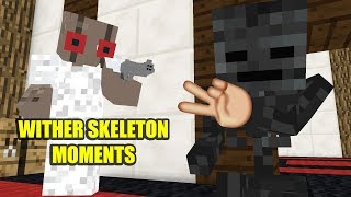 Monster School : WITHER SKELETON MOMENTS - Minecraft Animation