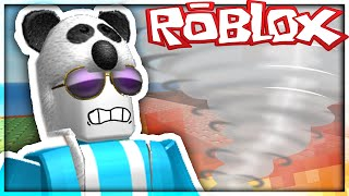 SURVIVING THE TORNADO!! | Roblox w/NicsterV