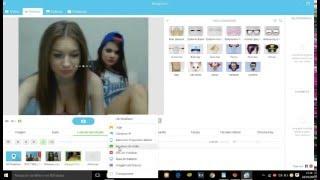 Troll Omegle com cam fake do DVC - (Manycam)