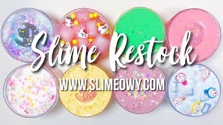SLIME RESTOCK: NEW CLOUD & JELLY CUBE! ...